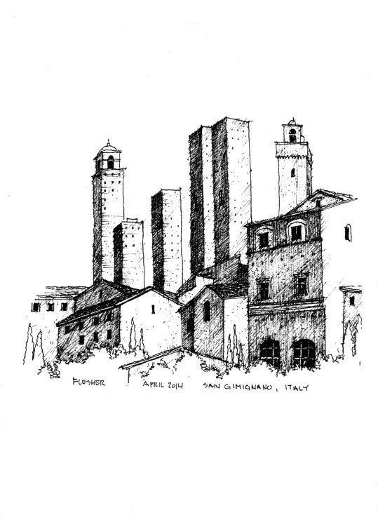 San Gimignano, Italy 2014