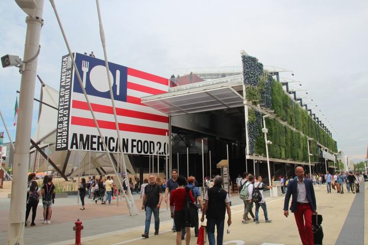 WORLD EXPO 2015, USA Pavilion