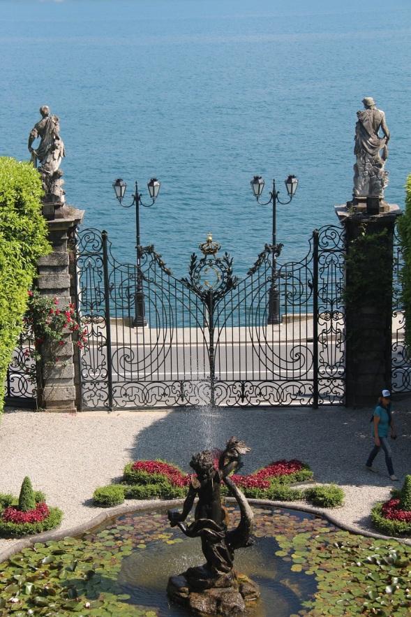 Villa Carlotta Entrance