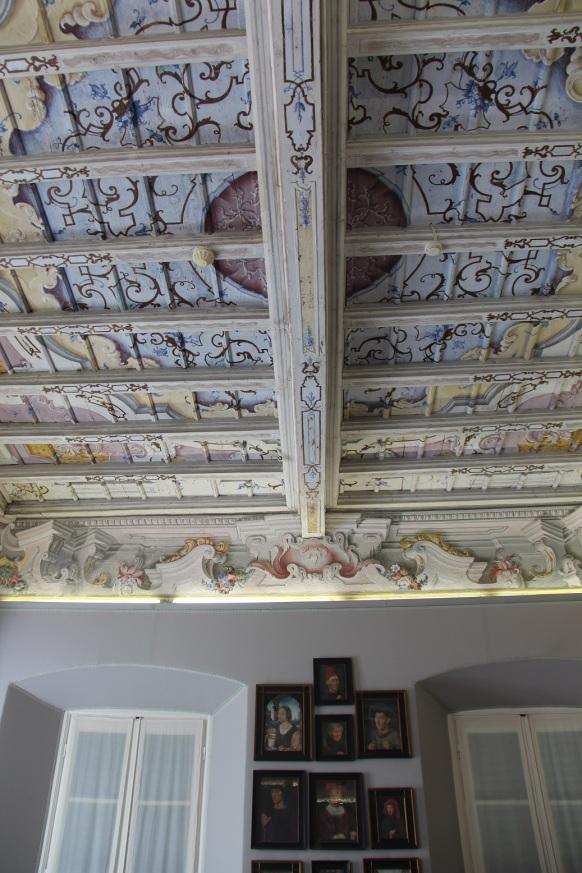 Villa Carlotta Interior Ceiling Detail