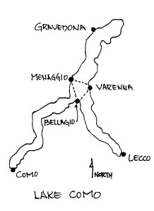Sketch Lake Como