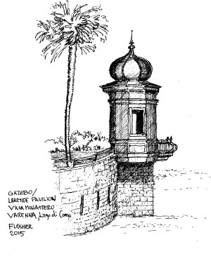 Sketch Varenna 2015 (2)Villa Monastero