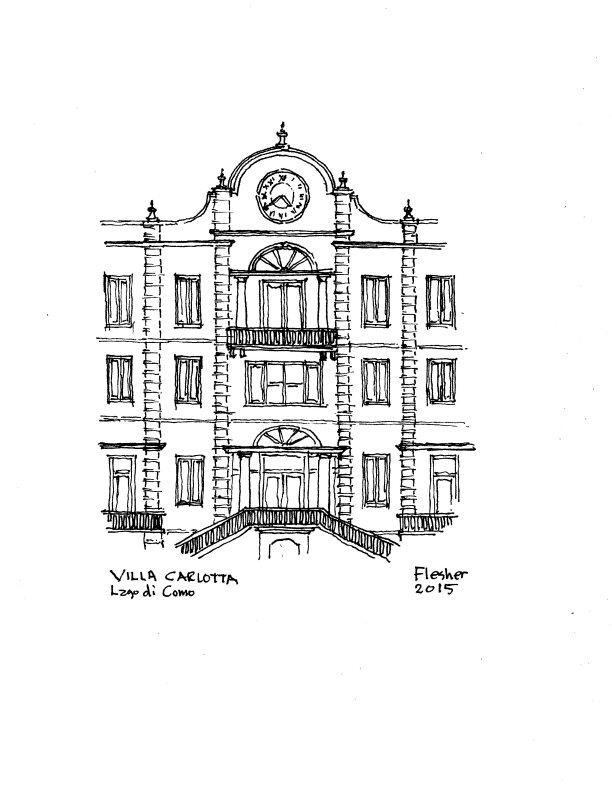 sketch Villa Carlotta 2015