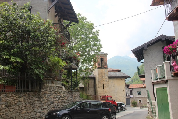 Hike to Domaso: Segna