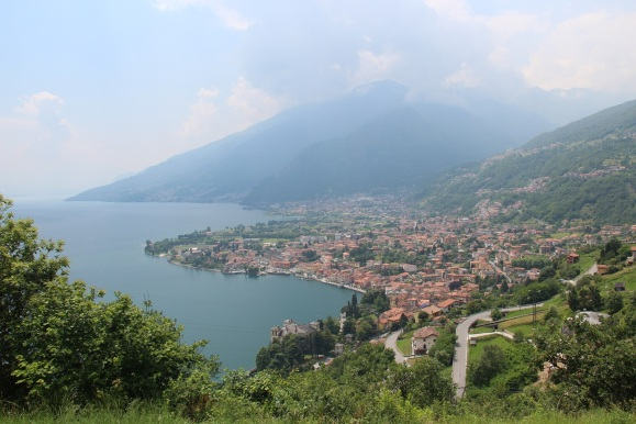 Hike to Domaso:  View from Segna