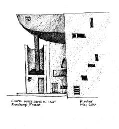 sketch Ronchamp 4