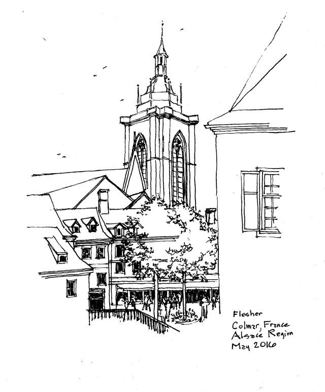 sketch Colmar 2016
