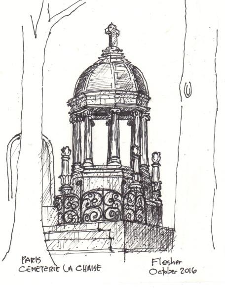sketch-cemetery-pere-lachaise-2016