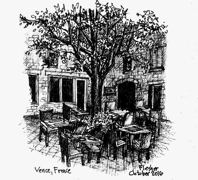 sketch Vence 2016